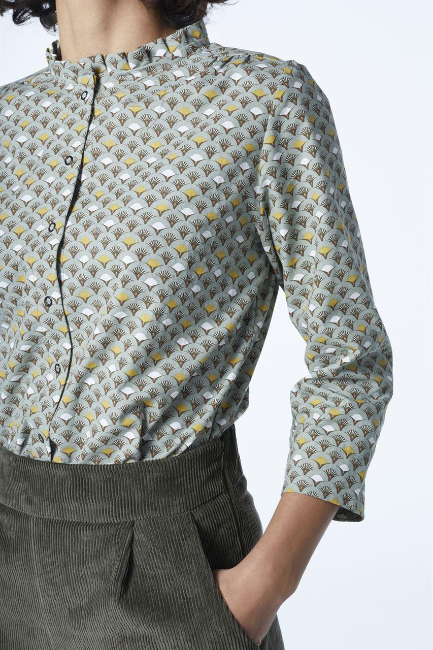 "Picture of ""babushka""  shirt  print edition"
