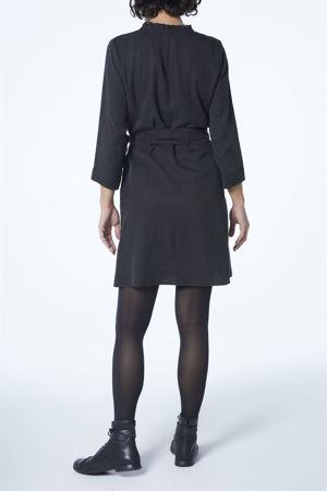 "Picture of ""babushka"" shirt dress in black"