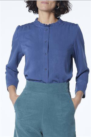 "Picture of ""babushka"" crop shirt  monochrome"