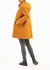 Picture of Water repellent  long jacket in mustard