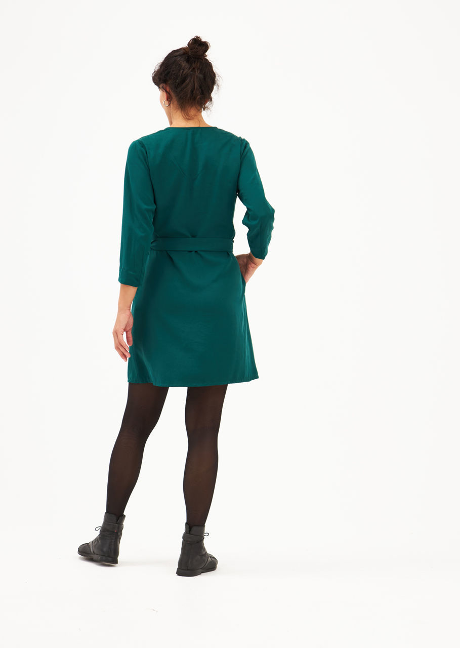 Picture of shirt dress in green